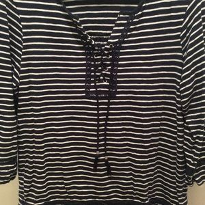 Style & Co Tops - Striped Blouse